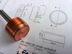 fijnmechanische techniek technische tekening